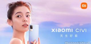 Xiaomi CIVI ra mắt với camera selfie 32MP, màn hình AMOLED 120Hz, Snapdragon 778G