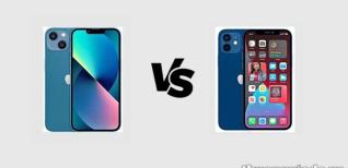 iPhone 13 và iPhone 12: So sánh thông số kỹ thuật