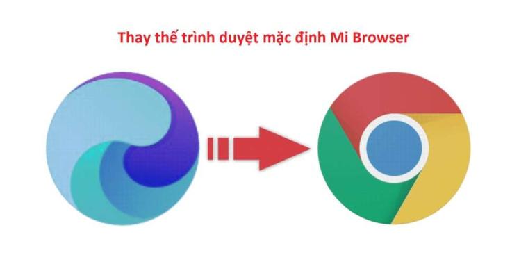 Làm thế nào để thay đổi trình duyệt mặc định trên Xiaomi MIUI?