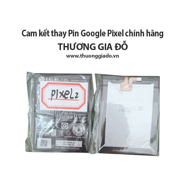 thay pin google pixel