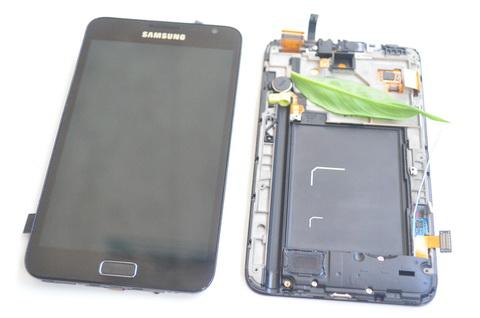 Màn hình LCD Samsung Galaxy Note N7000,Chính hãng nguyên khối màu đen