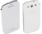 Bao Da Samsung Galaxy SIII, S3, i9300 Flip Cover White, Hàng chính hãng