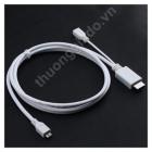 Cáp HDMI cho Samsung i9100,N7000,HTC Flyer, EVO 3D, ONE X,LG LU6200,LTE 2