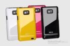Ốp lưng Samsung Galaxy SII/ i9100, Hiệu ROCK, loại bóng nhiều màu sắc