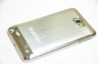Ốp lưng cho Samsung Galaxy Note N7000 (Hợp kim viền mạ crôm)