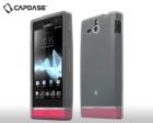 Ốp lưng Silicone CAPDASE cho Sony Xperia U ST25i