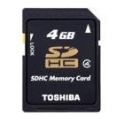 Thẻ nhớ SDHC 4Gb Toshiba(Hàng chính hãng)