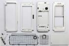 Vỏ Nokia E90 màu trắng full housing