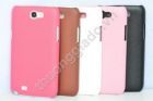 Vỏ Ốp Lưng Giả Da Cho Samsung Galaxy Note 2, Note II, N7100 ( Leather Case)