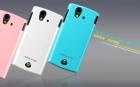 Vỏ ốp lưng Sony Ericsson Ray ST18i ( NillKin, loại bóng)