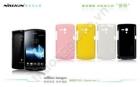 Vỏ ốp lưng NillKin cho Sony Xperia Neo L, MT25i (Loại bóng nhiều màu sắc)