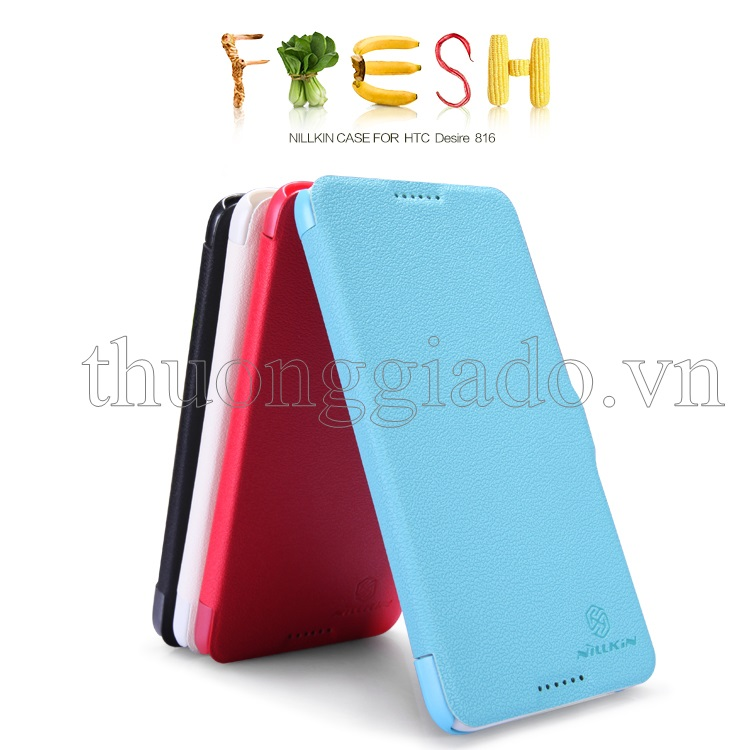 Bao Da HTC Desire 816 Fresh Series Leather Case