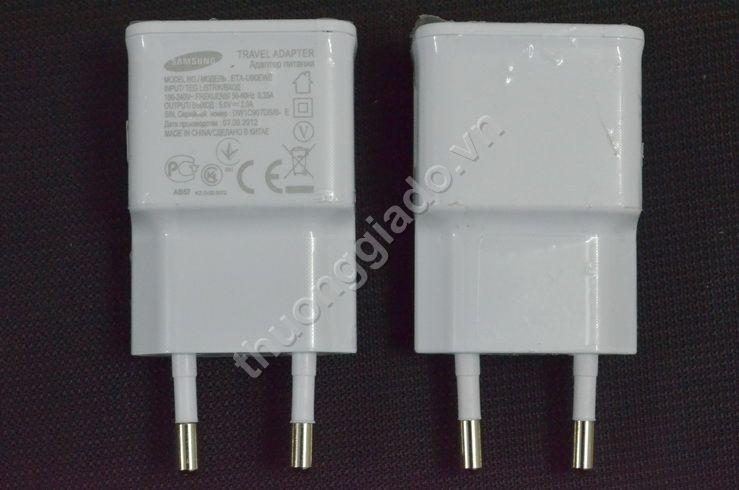 Củ sạc Samsung(5V-2A) Galaxy Note 2/ N7100, i9500 Original Travel Adapter (Hàng chính hãng)