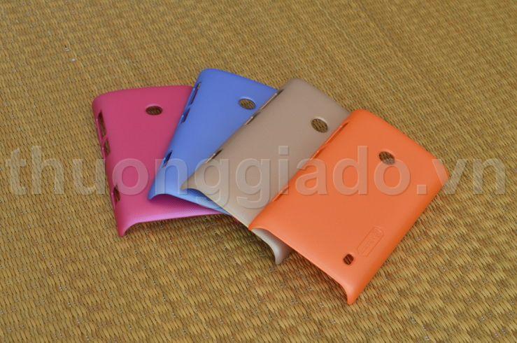 Ốp lưng sần NillKin cho Nokia Lumia 525/ Lumia 520 Màu Sắc  Frosted Shield