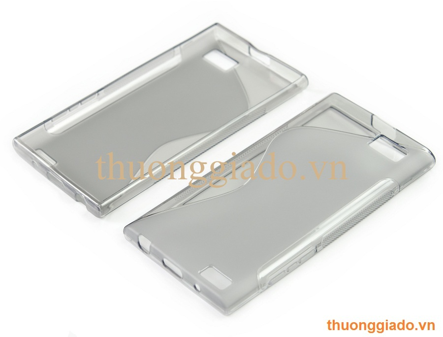 Ốp lưng silicone BlackBerry Leap Z20 (Hiệu S Line) TPU Case