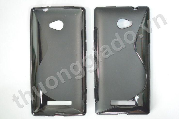 Ốp lưng Silicone cho HTC 8X