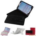 """Bàn Phím Không Dây Bluetooth Kèm Bao Da Book Cover Samsung Galaxy Tab4 8.0""""-T331/T330"""