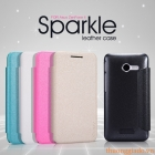 Bao Da Asus Zenfone 4 _ Asus A400 ( NillKin NEW LEATHER CASE- Sparkle Leather Case )