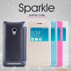 """Bao Da Asus Zenfone 4 - A450/Zenfone 4 màn hình 4.5""""(Hiệu NillKin, Sparkle Leather Case)"""