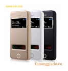 Bao Da Baseus Pure View Flip Leather Case for Apple iPhone 5S/5