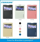 Bao Da BlackBerry Passport Q30 ( Hiệu FERRISE, PRIMIUM LUXURY CASE )