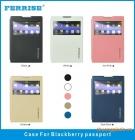 Bao Da BlackBerry Passport Q30 ( Hiệu FERRISE, PRIMIUM LUXURY CASE )