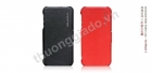 Bao Da Borofone gập ngang cho iPhone 5 ( Lientenant Folder Leather Case)