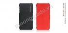 Bao Da Borofone gập ngang cho iPhone 5 ( Lientenant Folder Leather Case)