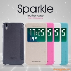 Bao Da HTC Desire Eye ( Hiệu NillKin, Sparkle Leather Case )