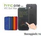 Bao Da HTC Dot View, HTC HC M100, HTC One (M8) Chính Hãng