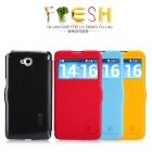 Bao Da LG G Pro Lite Dual D686 ( Hiệu NillKin, Fresh Series Leather Case )