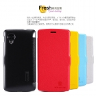 Bao Da NillKin cho Google Nexus 5 ( Fresh Series Leather Case )