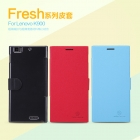 Bao Da NillKin Lenovo K900 Fresh Series Leather Case