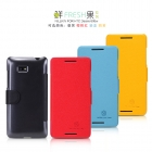 Bao Da NillKin HTC Desire 600, Desire 606w Fresh Series Leather Case
