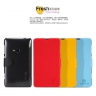 Bao Da NillKin Nokia Lumia 625 Fresh Series Leather Case