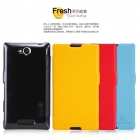 Bao Da NillKin Sony Xperia C, S39h Fresh Series Leather Case
