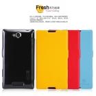 Bao Da NillKin Sony Xperia C, S39h Fresh Series Leather Case