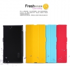 Bao Da NillKin Sony Xperia Z Ultra XL39h C6802 Fresh Series Leather Case