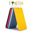 Bao Da Nokia Lumia 1320 ( Hiệu NillKin, Fresh Series Leather Case )