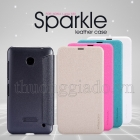 Bao Da Nokia Lumia 630 ( NEW LEATHER CASE- Sparkle Leather Case )