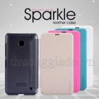 Bao Da Nokia Lumia 630 ( NEW LEATHER CASE- Sparkle Leather Case )