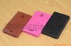 Bao Da Nokia X2 (2 sim) Flip Leather Case
