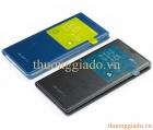 Bao Da Samsung Galaxy S5/ G900/ S View Cover Chính Hãng (Chấm bi)