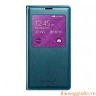 Bao Da S View Cover Chính Hãng cho Samsung Galaxy S5 Màu Xanh