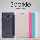 Bao Da Samsung Galaxy A3 ( Hiệu NillKin, Sparkle Leather Case )
