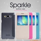 Bao Da Samsung Galaxy A5 ( Hiệu NillKin, Sparkle Series )
