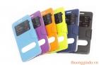 Bao Da Samsung Galaxy A5 ( Hiệu ONJESS, 2 cửa sổ ) Smart Case