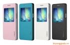 Bao Da Samsung Galaxy A5 S View Case ( Hiệu Rock, Uni Series Smart Leather Case )