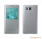 Bao Da Samsung Galaxy Alpha G850 S View Cover Chính Hãng Màu Xám Bạc