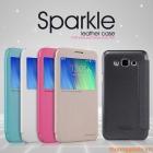 Bao Da Samsung Galaxy E7 ( Hiệu NillKin, Sparkle Series )